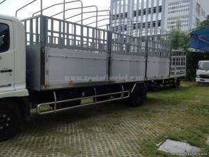 Tổng tải trọng: 10.200 KG Trọng lượng bản thân: 3.905 KG