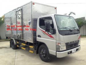 Xe tải Fuso canter 4.7 tải trọng 2 tấn, giá xe tải Fuso Canter 2 tấn