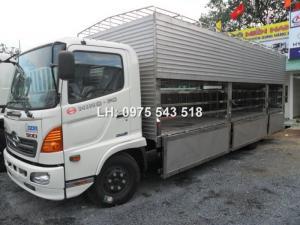 Bán xe tải 6 tấn  chở Heo Hino FC thùng dài 6.8m, có sẵn giao ngay
