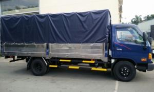 Hyundai hd88 5,5 tấn đô thành khuyến mãi 100% xe + thùng