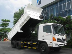 - Kích thước tổng thể (DxRxC): 8.480x2.460x2.700 mm - Kích thước lòng thùng: 4.900x2.300x910 mm - Tổng tải: 24000kg - Tải trọng cho phép: 14000kg