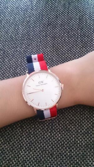 Đồng hồ dây vải đẹp