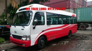 Nhà phân phối xe khách Hyundai 3 Cục Tracomeco 29 ghế limousine