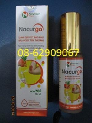 NACURGO- Chữa vết thướng, cầm máu tốt