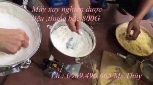Bán máy xay thuốc bắc ,máy nghiền dược liệu 0,8kg tại Hà Nội.