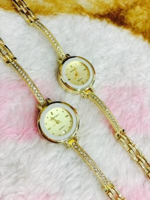 Đồng hồ nữ mạ kim