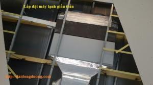 Giới thiệu Bảng giá máy lạnh giấu trần nối ống gió Remote dây - máy lạnh giấu trần công nghiệp giá rẻ