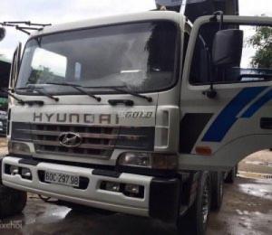 Bán xe tải ben Hyundai 16 khối 2003