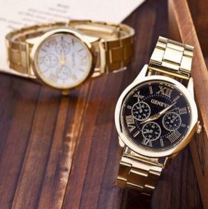 Đồng hồ geneval mạ kim