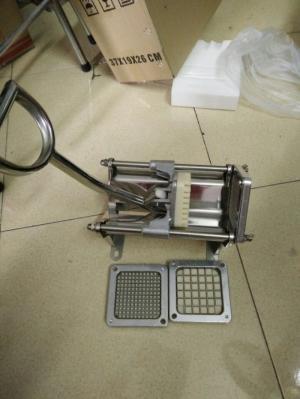 Bán máy thái lốc xoáy khoai tây, thái khoai tây con chì Việt Trung