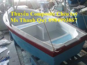 Thuyền Composite chèo tay 6-10 (4,5*1.3*0,5)
