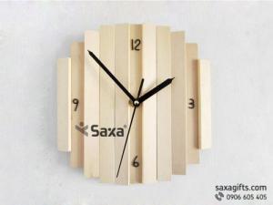 Tặng đồng hồ gỗ treo tường làm theo mẫu – Bạn đã thử chưa?