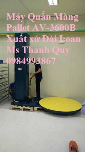 Máy Quấn Màng Pallet AV-3600B