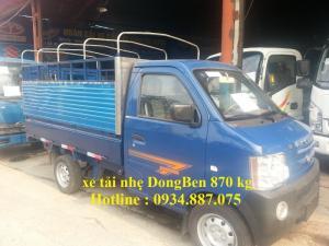 Bán xe tải nhẹ Dongben 870 kg 810 kg 770 kg,...