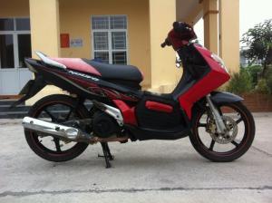 Nouvo 1 Mắt Yamaha màu đỏ nguyên bản biển Hà Nội