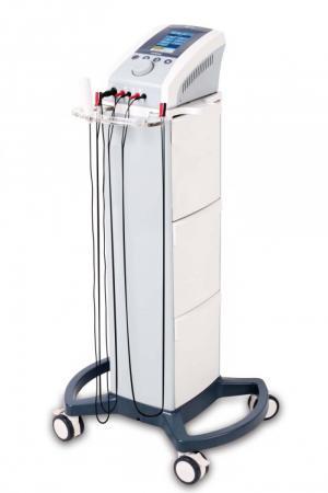 Thiết bị kích thích điện trị liệu 2 kênh - kết hợp siêu âm điều trị 1 đầu phát đa tần