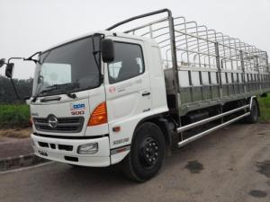 Xe tải Hino thùng phủ bạt 9.4 tấn thùng dài 8.8m FG8JPSL mới