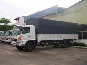 Bán xe tải Hino FG8JPSL 2016 thùng mui kèo bạt siêu dài, giá rẻ