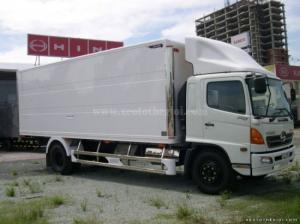 Xe tải Hino 15 tấn FG8JPSL thùng kín dài 8m7 giá rẻ 1 tỷ 160 triệu