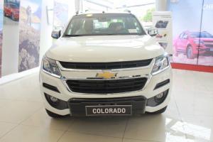 Sức mạnh bán tải từ Colorado High Country 2017 mới