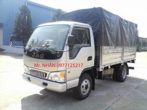 Xe tải giá tốt JAC 1.49Tan (thùng 3720 X 1750...