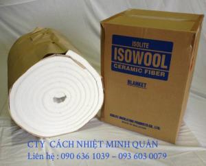 Bông gốm cách nhiệt ISOLITE chịu nhiệt 1400 độ C