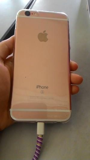 Iphone 6 len vo 6s hong 16G QTe 99,9%