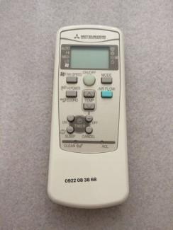 Remote máy lạnh Mítubishi heavy-zin