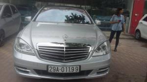 Cần bán mercedes benz s400 đời 2009 , màu trắng xe nhập khẩu