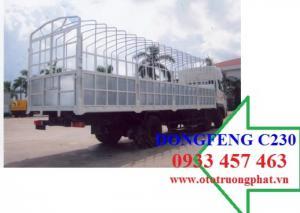 Nơi bán Xe tải Dongfeng C230 2 dí 1 cầu thùng mui bạt trả góp giá tốt trên toàn quốc