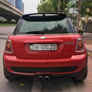 Cần bán mini cooper s nhập khẩu màu đỏ đời 2007