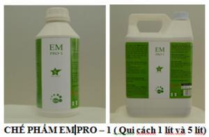 Chế phẩm khử mùi hôi rác thải, chuồng trại EM PRO-1