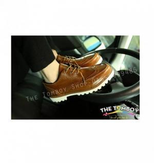 Giày da tăng chiều cao dành cho Tomboy, sb, transguy phong cách