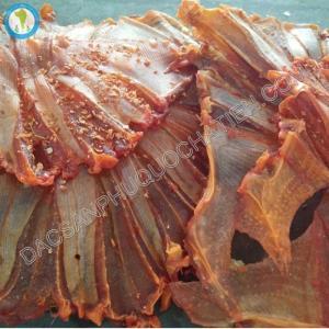 Khô cá đuối xẻ tẩm gia vị Phú Quốc, món ngon dân dã đậm đà hương vị biển cả.