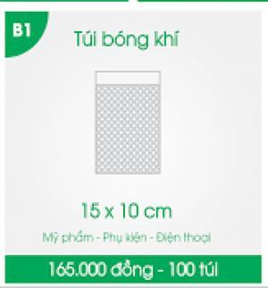 Túi bóng khí chống sốc, túi bóng khí bảo vệ hàng mỹ phẩm, phụ kiện, linh kiện điện tử, đồ công nghệ. Túi chống sốc có sẵn size: - 15x10 cm - 165,000đ/100 túi - 20x10 cm - 220,000đ/100 túi