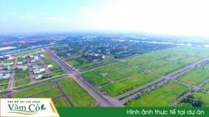 Khu đô thị Phú Mỹ Hưng giữa lòng TP Tân An, 4 MT đường 50m, giá 6tr/m2, XD ngay.