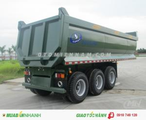 BÁN RoMooc Doosung 25m3 31 tấn hàng nhập khẩu, hỗ trợ trả góp.