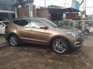 Hyundai Santafe màu gold giá cực chất
