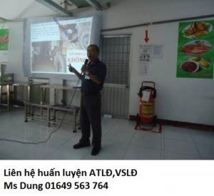 Dịch vụ huấn luyện an toàn lao động theo ND44/2016/ND-CP