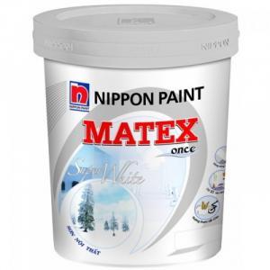 Sơn Nippon Matex siêu trắng trong nhà