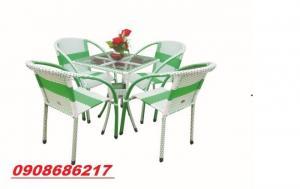 Ghế mây trực tiếp sản xuất bàn ghế cafe giá rẻ