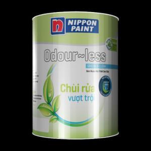 Sơn nội thất Nippon chùi rửa vượt trội Odourless, sơn nội thất lau chùi Nippon