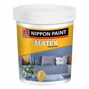 Sơn nội thất Nippon Matex, sơn nội thất Nippon giá rẻ, sơn trong nhà giá rẻ