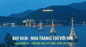 Vé máy bay đi Nha Trang cuối tuần chỉ với 90.000 đồng