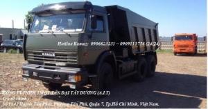 Xe ben Kamaz 65115 (15 tấn) 2016 mới nhập khẩu, Kamaz 65115 mới 2016