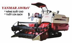 Máy cắt Yanmar 82V năng suất cao cắt lúa sạch. Động cơ sản xuất theo tiêu chuẩn Nhật Bản tiết kiệm nhiện liệu. Vận hành tốt trên ruộng lầy (bánh xích rộng và dài). Vận hành dễ dàng, ưu việt, kiểm tra và bảo trì dễ dàng.