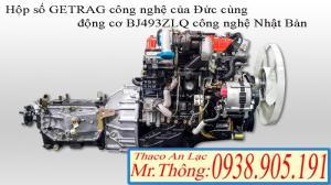 THACO - OLLIN345 (K2800) Tải Trọng 2.4 Tấn Chạy trong Thành Phố - Hỗ trợ trả góp đến 80% giá trị xe.