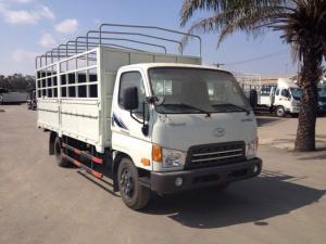 Xe tải Hyundai HD500/HD650 tải trọng 5 tấn/6.4 tấn, hỗ trợ đóng thùng theo yêu cầu, bán trả góp