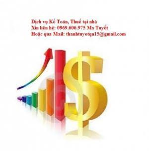 Nhận làm sổ sách, BCTC tại nhà Xin kính chào các công ty. Tôi chuyên nhận làm kế toán tại nhà, báo cáo thuế tháng, báo cáo thuế quý, báo cáo thuế năm, báo cáo tài chính, quyết toán cuối năm, vào sổ sách kế toán, hoá đơn chứng từ, những dịch vụ kế toán theo yêu cầu. Lý do bạn chọn thuê kế toán làm việc tại nhà: – Tiết kiệm chi phí so với việc thuê kế toán làm việc trực tiếp tại doanh nghiệp (làm hành chính). – Không phải đầu tư thêm máy vi tính & không gian làm việc cho nhân viên – Được tư vấn thuế và cập nhật các chính sách thuế mới nhất. Với dịch vụ kế toán tại nhà, chúng tôi hân hạnh được thực hiện các công việc sau cho quý Công ty: – Kê khai thuế hàng tháng, làm báo cáo thuế GTGT, thuế TNCN hằng tháng, báo cáo thuế TNDN tạm tính,tình hình sử dụng hóa đơn quý, quyết toán thuế TNDN, thuế TNCN, báo cáo tài chính hằng năm. – Hạch toán kế toán, lập và in đầy đủ các loại sổ sách kế toán theo chế độ kế toán của công ty......