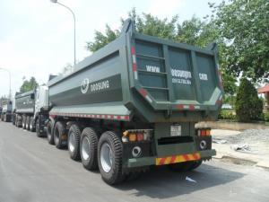 Tp.HCM bán Sơ mi Rơ Moóc Moóc ben thể tích 24 m3, giao xe Toàn Quốc